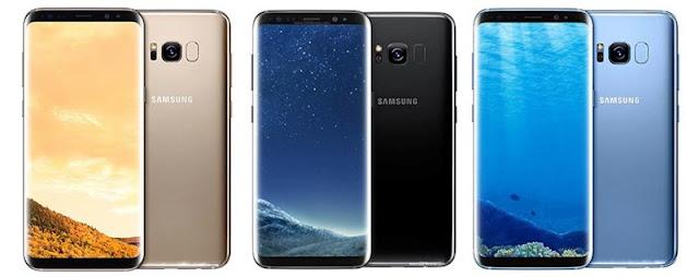 ROM quốc tế (Global) tiếng Việt Samsung Galaxy S8 Mỹ (G950A, G950T, G950V, G950P, G950U, G950R4)