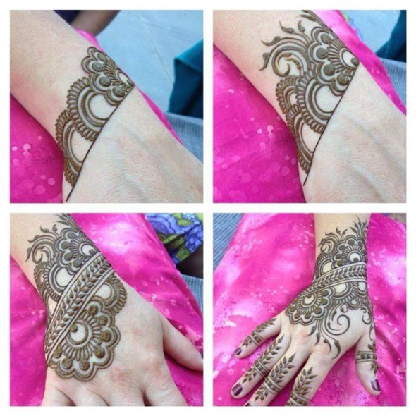 20 Step By Step Mehndi Designs For Beginners Bling Sparkle