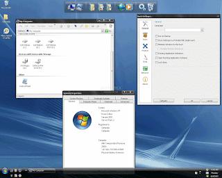 شرح أفضل برنامج  تحويل ويندوز إكس بي إلى ويندوز فيستا Universal Vista Inspirat Brico Pack Ultimate