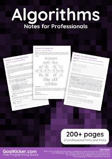 Algorithms Notes for Professionals PDF