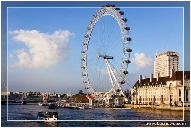 The London Eye  - Top 7 Best Places to Travel in London, England at Least Once in Your Life Time