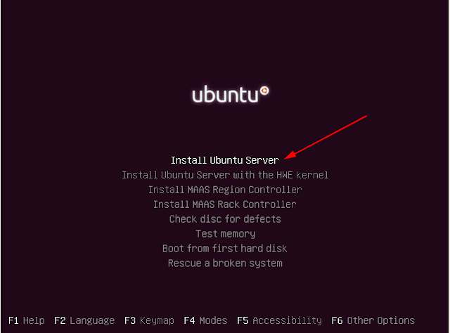Tutorial Install Ubuntu Server