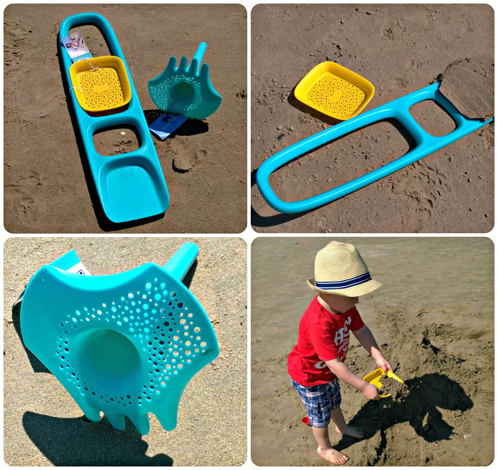 Quut Beach Toys scoopi and triplet