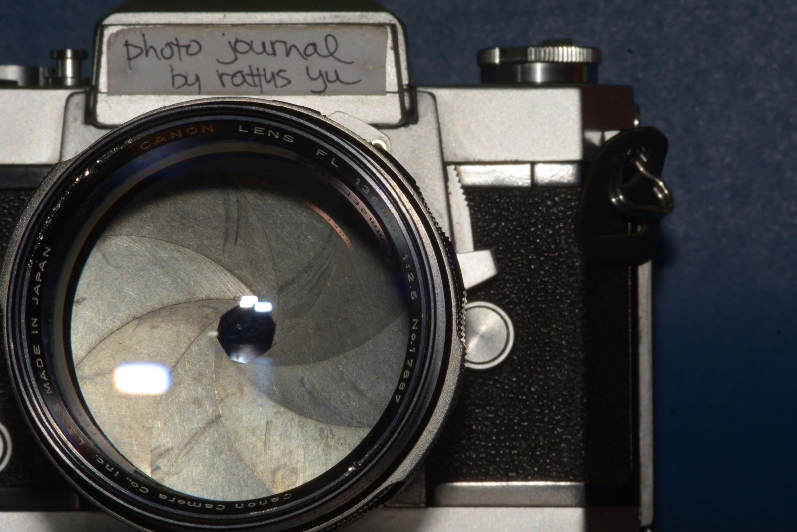 LENS PORN: Canon FL 135mm f/2 5 (1965) Modified To Nikon F Mount