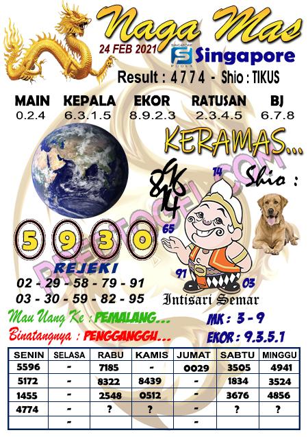 Syair Sgp Nagamas Rabu 24 Februari 2021