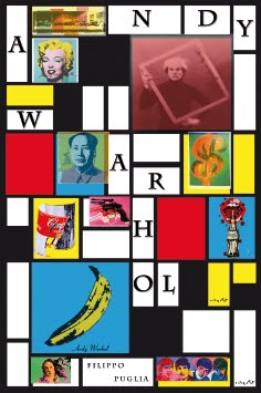Andy Warhol, collage di un artista