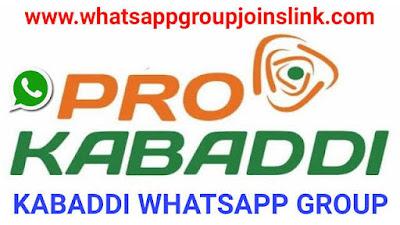 Join 150+ Pro Kabaddi Whatsapp Group Links 2020