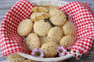 Sezamowe ciasteczka szczęścia