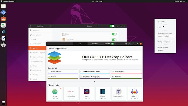 Yaru Ubuntu 19.10