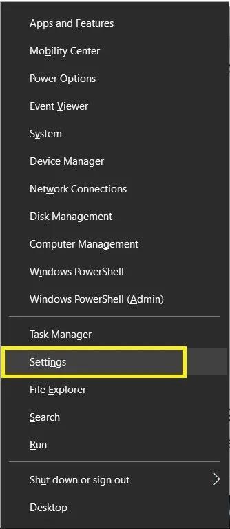 إعدادات Windows 10 Activate