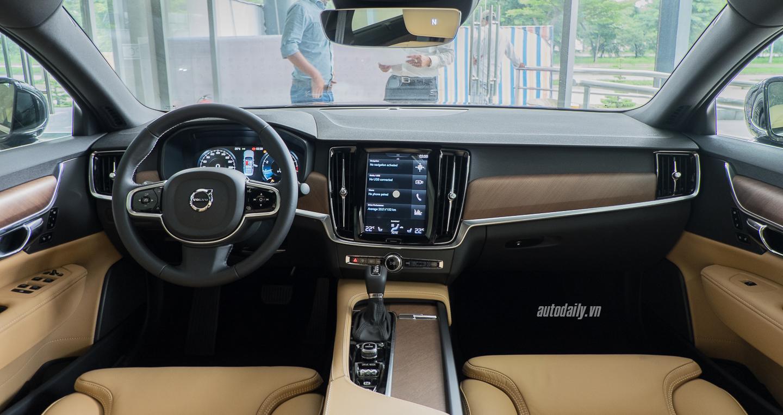 Nội thất S90 của Volvo - Giá Xe VOLVO 4, 5, 7, Chỗ Bao Nhiêu Tại Việt Nam (XC40, S90, XC60, XC90)