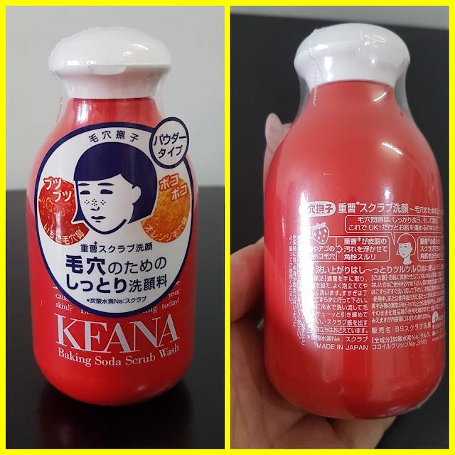 Bột rửa mặt Keana baking soda - Hàng Nhật