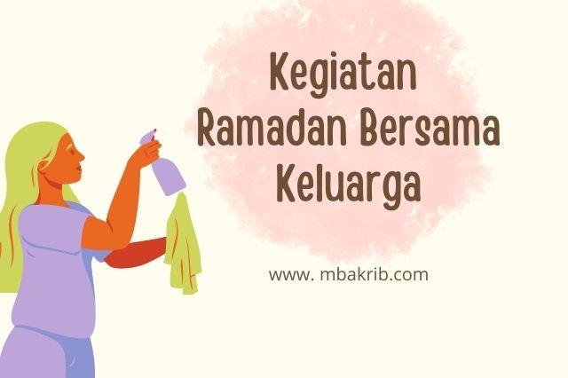ramadan bersama keluarga