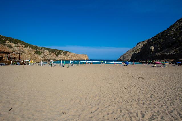 Spiaggia di Cala Domestica-Spiaggia libera