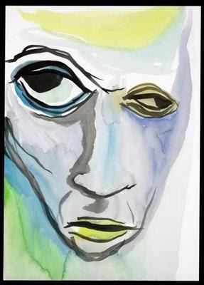 Skincoat, pintura de Marilyn Manson.