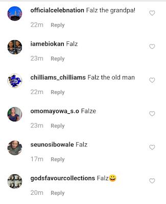 Falz Rocks White Beard Like A Grandpa