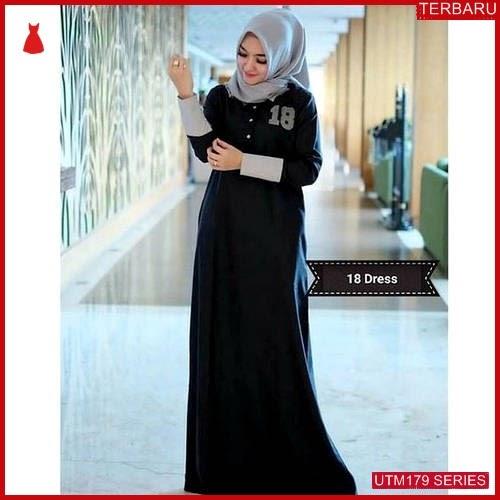 UTM179T58 Baju Ter Muslim Eighteen Dewasa Dress UTM179T58 0B3 | Terbaru BMGShop