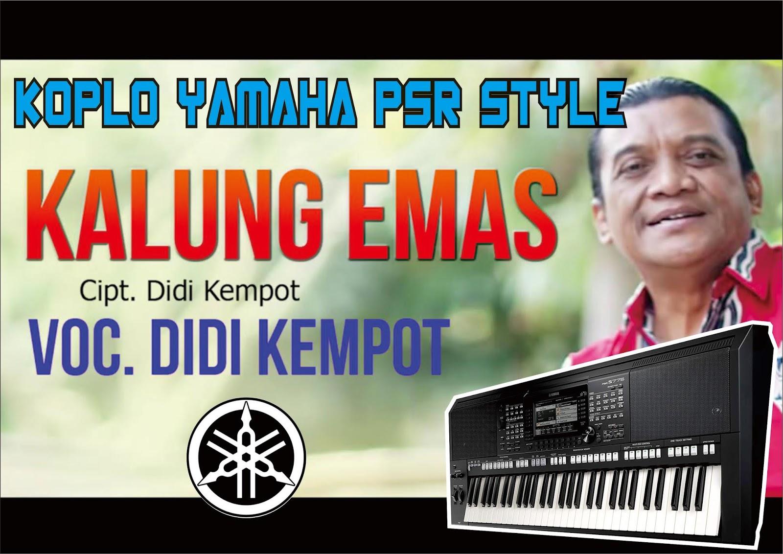 Kalung Emas Didi Kempot Style Gratis Download Update Omyus