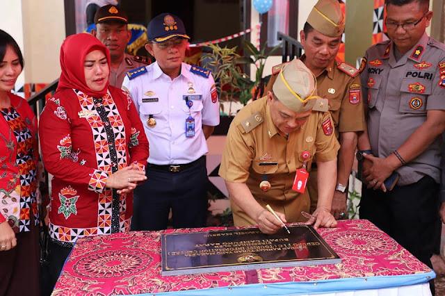 Gedung Tourism Information Centre Lampung barat Dilaunching