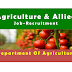 Department of Agriculture Recruitment Block Technology Manager & Asst.Technology Manager
