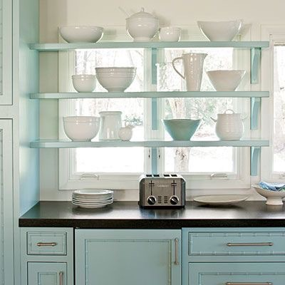 Shelving Cabinetry In Front