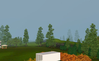 paisagem the sims 3