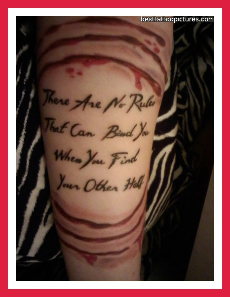 Ideas for Life Quote Tattoos Designs