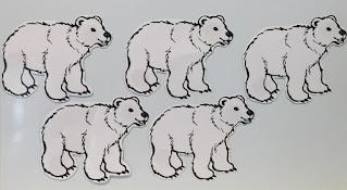 Polar bear counting rhyme