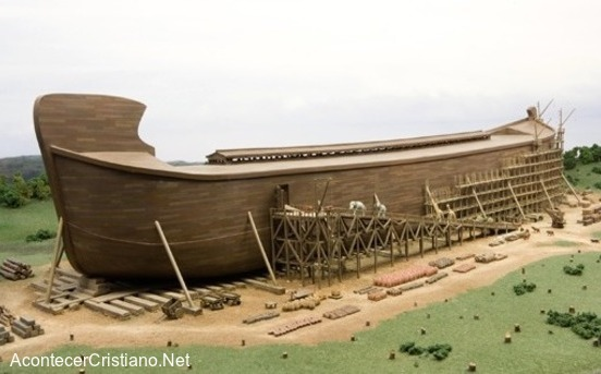 Construyen réplica del Arca de Noé en tamaño real