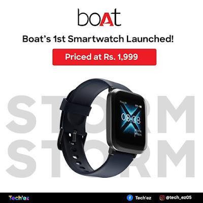 boAt India popular smart watch brand