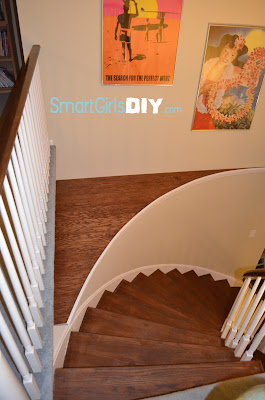 Smart Girls DIY Staircase Makeover