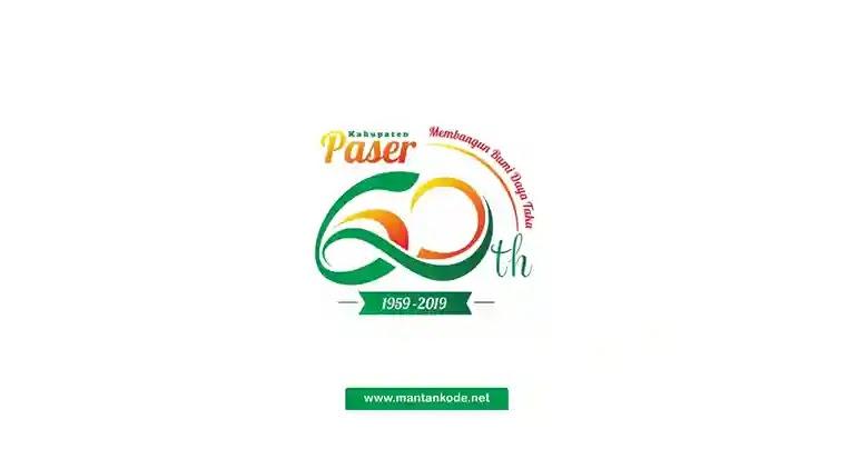 Logo resmi hut ke 60 Kabupaten Paser - Download - mantankode