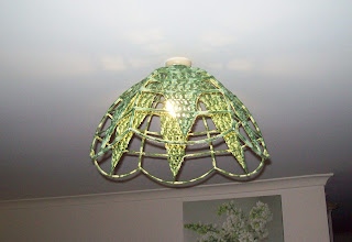 crochet an old light shade 10