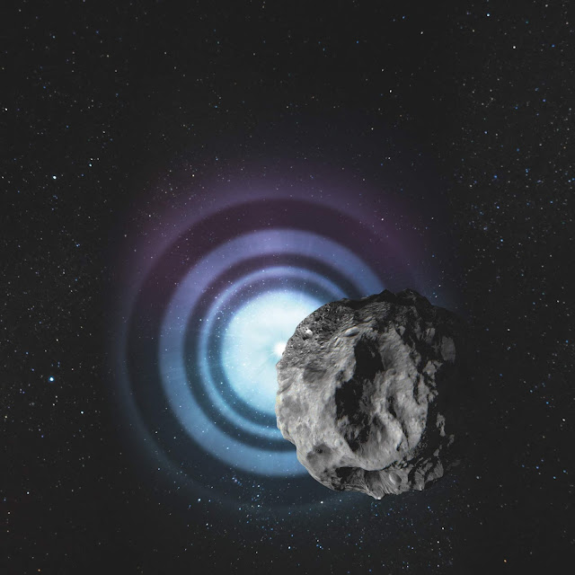Asteroids help scientists to measure the diameters of faraway stars