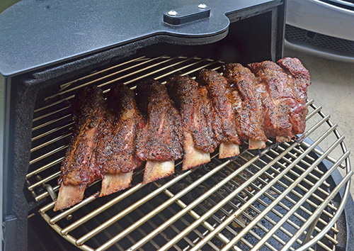 Recipe for beef back ribs on the grill