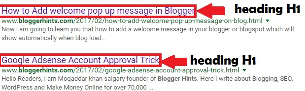 Wrap Your Blog Post Title in an H1 Tag