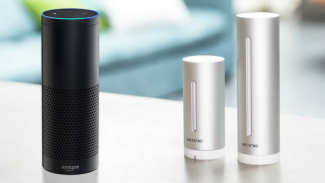 Amazon Echo: Skill for Netatmo weather station