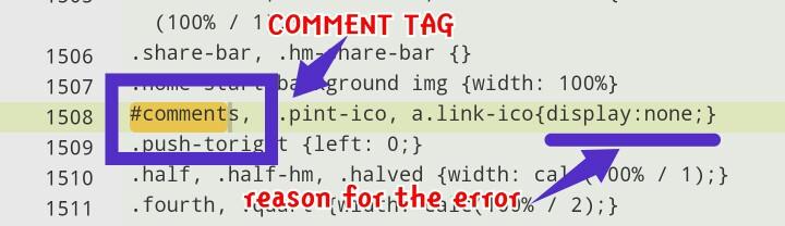 unhide blogger comment box - method 2, step 6