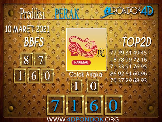 Prediksi Togel PERAK PONDOK4D 10 APRIL 2021