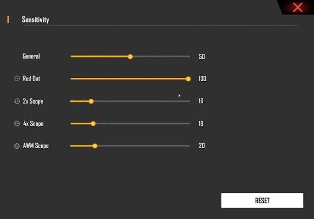 أفضل اعدادات الحساسية للعبة فري فاير للمحترفين | ضبط اعدادات السكوب والايم | Best Sensitivity Settings