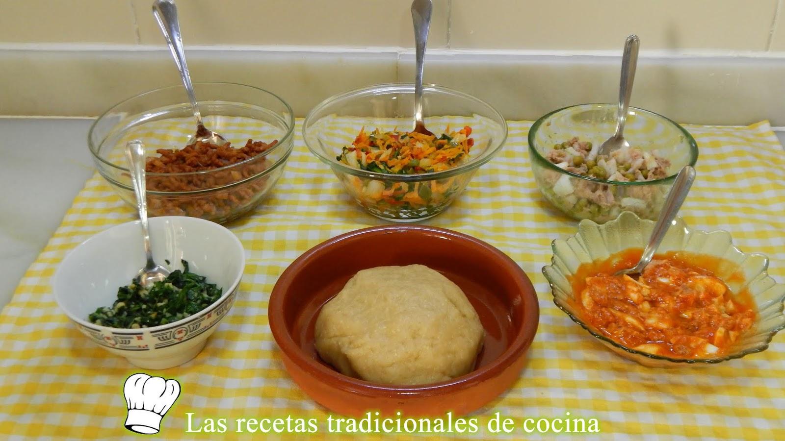 Receta Fácil Para Hacer 5 Rellenos Tradicionales Para Empanadas O Empanadillas