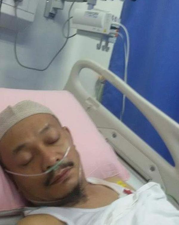 TAKZIAH! Ustaz Kazim Elias Dimasukkan Ke Hospital