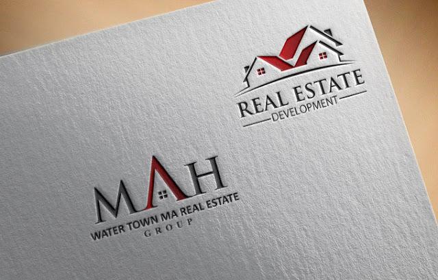 I will do property construction real estate logo design