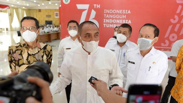 TPID Sumut Terbaik Se-Sumatera, Gubsu Edy: Alhamdulillah