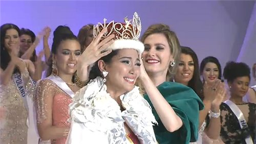 Bea Rose Santiago wins Miss International 2013