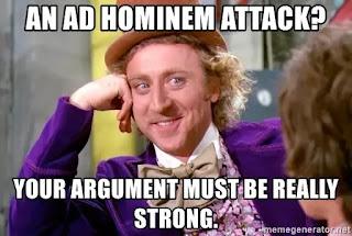 Argumentum Ad Hominem Fallacy