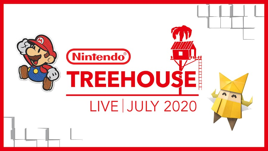 nintendo treehouse july 2020 switch games paper mario origami king bakugan champions of vestroia