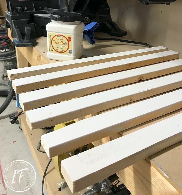DIY Office Pegboard Wall