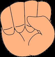 Символ Хасты (кулак)