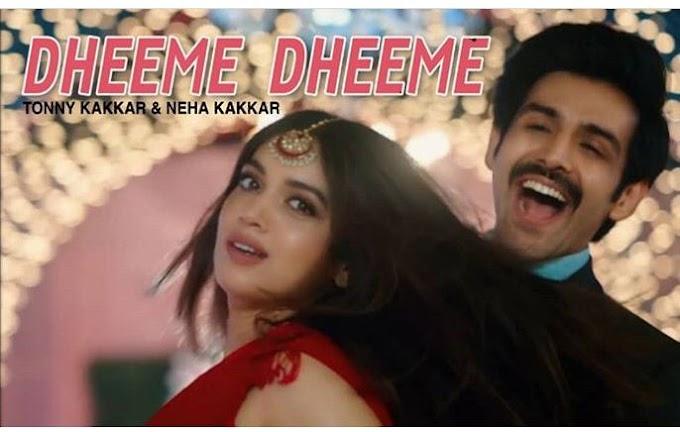 Dheeme Dheeme Song Lyrics (Lyrics Dhayari) | Pati Patni aur Woh (2019) | Tonny Kakkar, Neha Kakkar | Kartik Aryan, Aannya Pandey